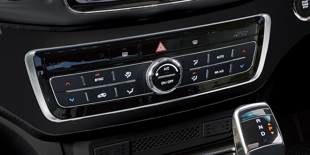 rexton - Dual Zone Air Conditioning
